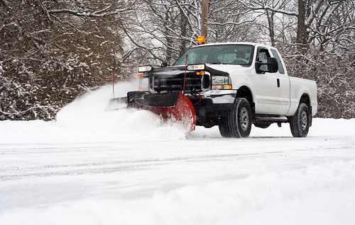 Snow Plowing for Haverhill, Bradford, Andover and the Merrimack Valley